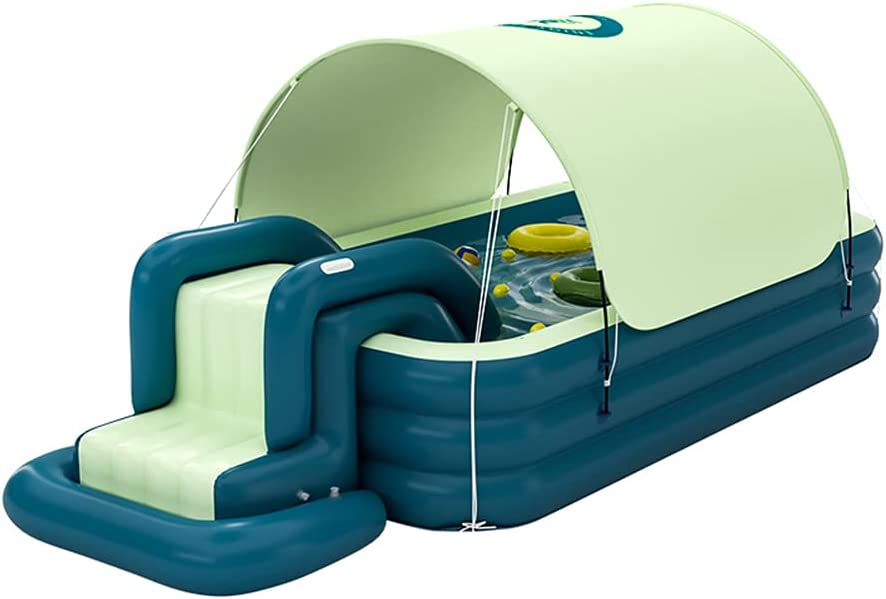 Super sale period limited VNFWLDM Inflatable Swimming Pool Max 41% OFF Kiddie Full-Size Upgraded