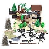 WWEI Custom armas tiro militar guerra WWW2 Set para niños Mini soldados SWAT figuras compatibles con Lego