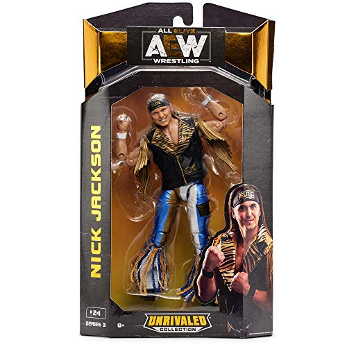 AEW JAZWARES – AEW0023 Unrivalled Collection – Nick Jackson – 16.5cm Wrestling Actionfigur