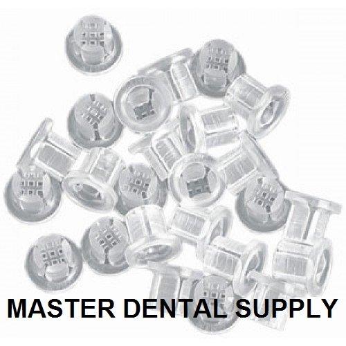 Dental Saliva Ejectors Traps 100 Pcs/Bag Clear Disposable Debris Screen Traps Universal