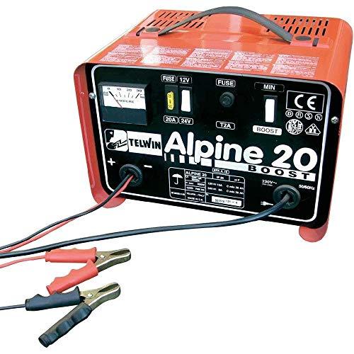 Telwin–Cargador Boost 225Ah 12–24V alimentación 230V Mod. Alpine 20