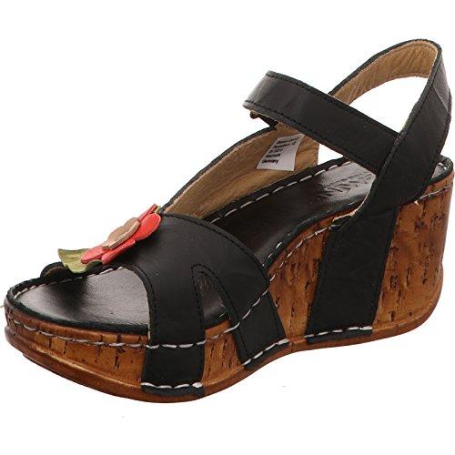 Gemini Damen Sandale/Sandalette Schwarz 31425-01 009