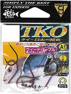 がまかつ(Gamakatsu) シングルフック A1 TKO 5号 8本 ウィードパープル 67594...