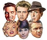 Star Cutouts Ltd SMP67Audrey Hepburn/Steve McQueen/Monroe/James Dean/Elvis/Humphrey Bogart,...