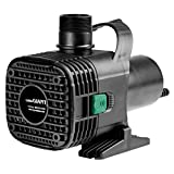 Little Giant 566729 Wet Rotor Pond Pump with 40-Feet Cord, 7300GPH F-Series