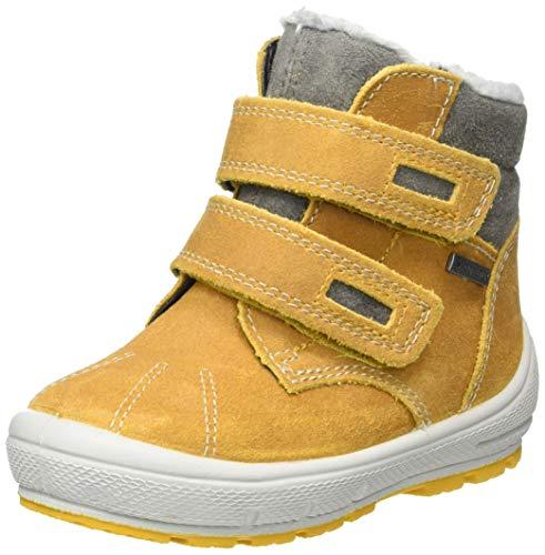 Superfit Baby Jungen Groovy Schneestiefel, Gelb Grau 6000, 25 EU