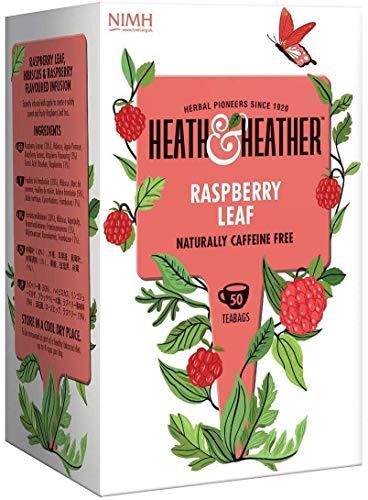 Heath & feuille de framboisier Heather 50 sachets