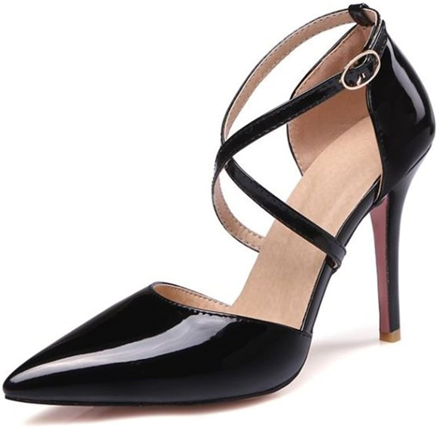 Xiaoyang Women's High Heels Dress Pumps Pointed Toe Stiletto Fashion Classic shoes