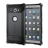 エレコム Xperia XZ2 Compact ケース SO-05K ZEROSHOCK ゼロショック 耐衝撃 ブラック PD-XZ2CZEROBK