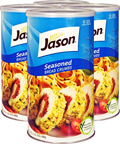 Jason Seasoned Bread Crumbs, 24 Ounces (Pack of 4)