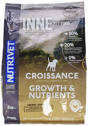 Nutrivet Inne Croissance à Partir de 2 Mois pour Chiot Sac de 3 Kg