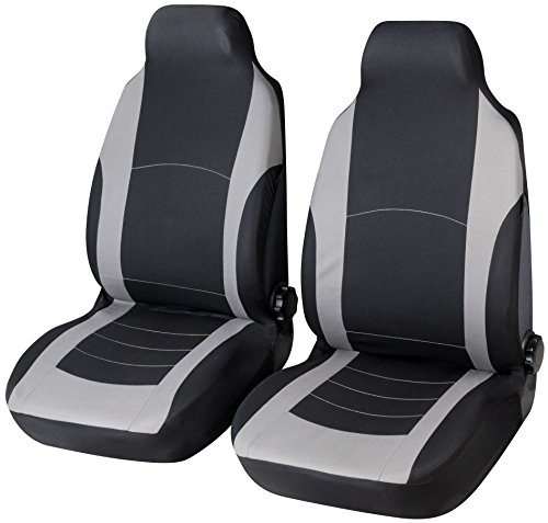 Budget 13404 Autositzbezug Pilot Highback schwarz-grau