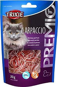 TRIXIE Carpaccio Premio Friandises au Canard/Poisson pour Chat 20 g