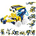 Stem Toys,11 In 1 Solar Robots For Kids,Educational Learning Science Kits For Kids 10-12 Transformers Toys , Building Toys Present For Boys And Girls ,Gift Idea Toys For Teen Birthday Christmas