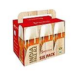 Spiegelau Beer Classics Indian Pale Ale Sixpack, Boccale per Birra, Set da 6 Pezzi, Cristallo, 540 ml, 4991782