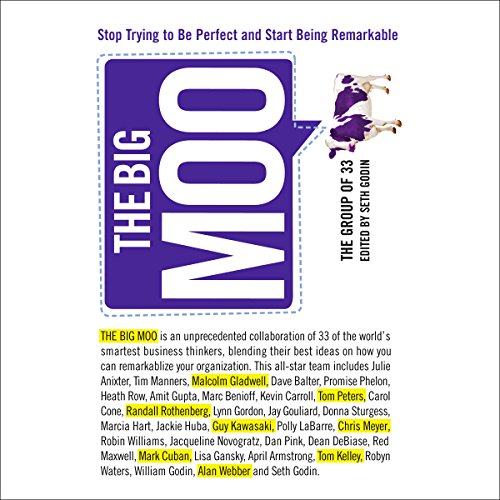 The Big Moo audiobook cover art