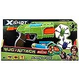 ZURU X-Shot 4801 Juguete de Ataque de Insectos, Verde, Naranja, Talla nica