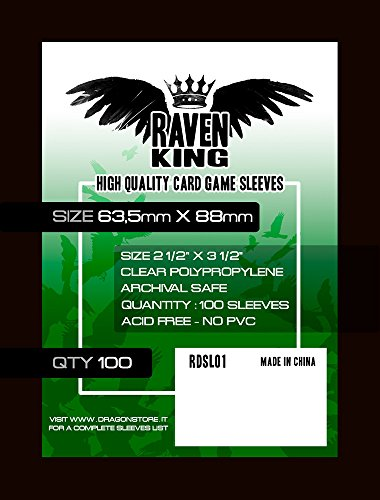 Raven–Bustine Protettive 63.5x 88mm (100Unidades.)