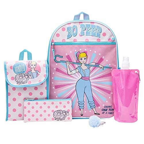 Toy Story Backpack Combo Set: Disney Pixar Girls  6 Piece   Peep   Buzz Lightyear   Lunch