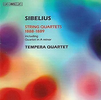 Sibelius: String Quartets 1888-1889