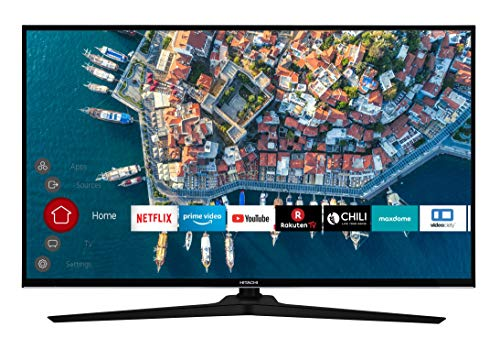 HITACHI F43E4000 109 cm (43 Zoll) Fernseher (Full HD, Smart TV, Prime Video, Works with Alexa, Bluetooth, Triple-Tuner, PVR)