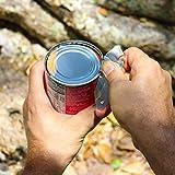 Tapirus Spork to Go V8 Set   8 Farbige Langlebige Göffel   Löffel, Gabel & Messer-Kombination Besteckset Essgeschirr Für Camping & Outdoor-Aktivitäten   Mit Flaschenöffner & Aufbewahrungstasche - 3