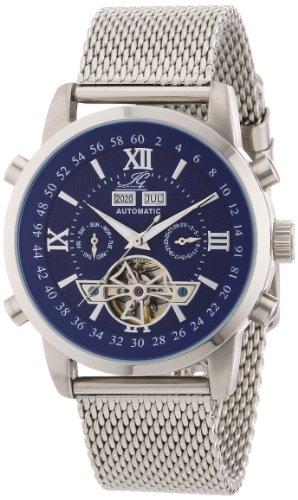 Ingraham Herren-Armbanduhr XL Calcutta Analog Automatik Edelstahl IG Calc.1.221105
