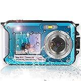 Best Underwater Digital Cameras - Waterproof Camera,Underwater Camera with Dual Screen, Full HD Review