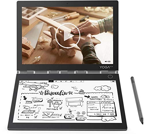 2019 Lenovo Yoga Book C930 2-in-1 10.8' QHD Touchscreen Tablet Laptop Computer, Intel Core i5-7Y54 up to 3.2GHz, 4GB RAM, 128GB SSD, Active Pen, Touch E-Ink Keyboard, Fingerprint Reader, Windows 10