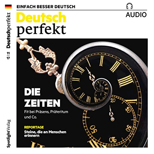Deutsch perfekt Audio. 11/2017 audiobook cover art