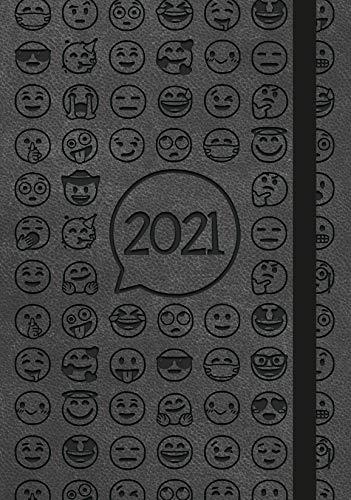 Agenda settimanale Pocket 2021 - Nera