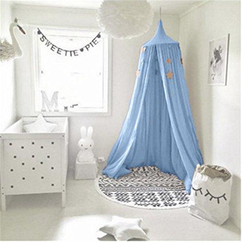 Betthimmel für Kinder , Moskitonetz aus Baumwolle zum Aufhängen, Spiel- und Lesezelt für innen und außen, Bett-/Schlafzimmerdekoration, Insektenschutz, (Höhe: 240 cm)