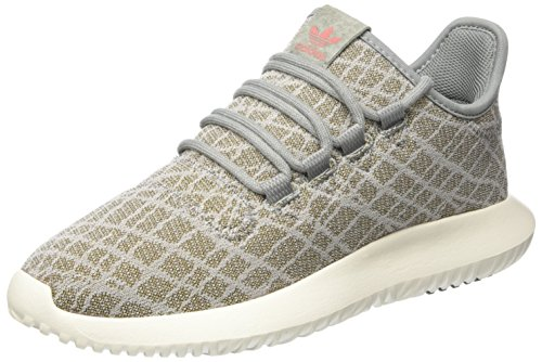 adidas Damen Tubular Shadow Sneakers, Grau (Ch Solid Grey/ch Solid Grey/raw Pink), 40 EU