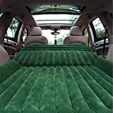 Sinbide - Colchón hinchable para coche, con bomba, Verde solo para SUV