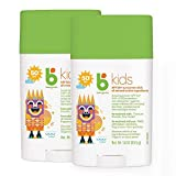 Babyganics SPF 50 Travel Size Kids Sunscreen Stick UVA UVB Protection | Water & Sweat Resistant |Non Allergenic, 2 Pack (1.6 Ounce)