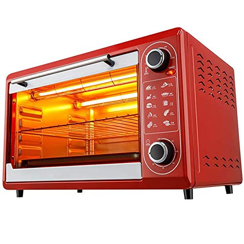 Best Bargain LQRYJDZ Electric Oven,Smart Oven, onvection Toaster Oven with Timer & Temperature Setti...