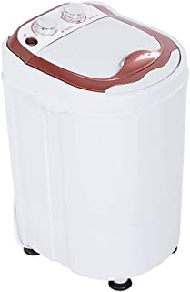 Portable Mini Full-Automatic Washing Machine, Compact Laundry Washer with Timer Control for Dorms and Apartments, 13 lbs Load Capacity, US Plug