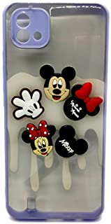 Back Cover Cartoon 3D Toys For Realme C11 2021 - Purple