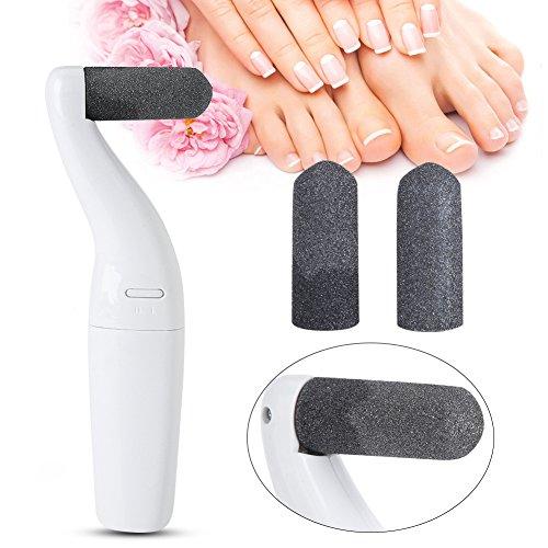 Dispositif de pédicure électrique USB Retrait des cuticules de la peau morte Rechargeable Foot Care and Massage Tool