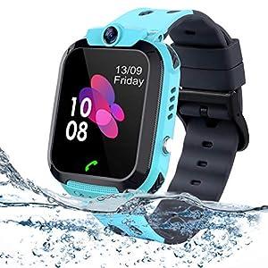 bhdlovely Reloj Niños Smartwatch LBS/GPS Pantalla Táctil ...