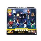 Roblox ROG0126 Mischief Night - Juego de 4 Figuras de acción con 4 Figuras, Accesorios y...