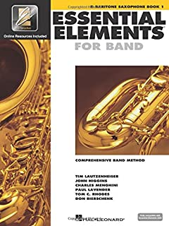 Essential Elements for Band - Eb Baritone Saxophone Book 1 with EEi