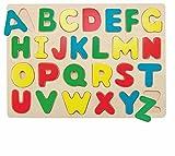 Woodyland Puzzle Legespiel Caso Alfabeto ABC Juego DE Madera Juguetes de Madera