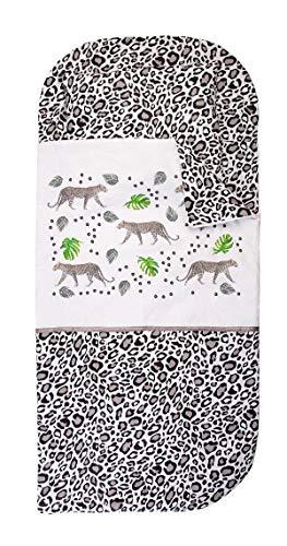 Sango Trade Nap Mat Slumber Tasche Spannbettlaken (Leopard)