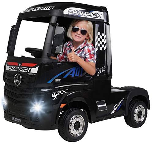 Actionbikes Motors Kinder Elektroauto Mercedes Benz Actros Truck LKW -...
