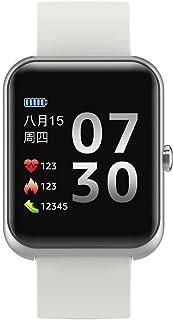 yankai Reloj Inteligente para Teléfono a Prueba Agua, Pulsera Inteligente Deportiva Bluetooth,Dial Personalizado,Modo Multideportivo,Cámara Control Remoto,Admite Uso en Varios Países