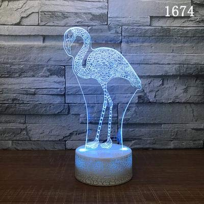 Classic Wild Animals led Night Light Wholesale Christmas Gifts 3D Lamps Cute Cartoon Children Toys