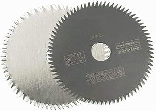 Yener Disco de Corte de Hoja de Sierra Circular de carburo Rueda de Corte de Madera Herramienta de molienda Multifuncional, 10 mm