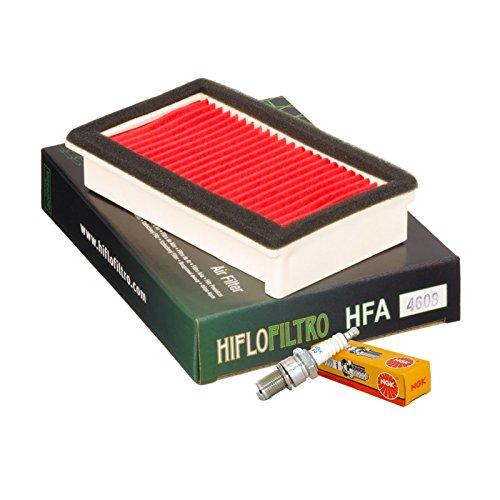 Filtro aria HifloFiltro HFA4608 candela NGK Yamaha XT 600/660 / E/Z Tenere