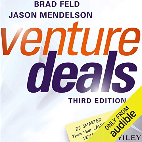 Couverture de Venture Deals, Third Edition